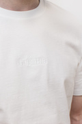 Basic #4, T-shirt White/White