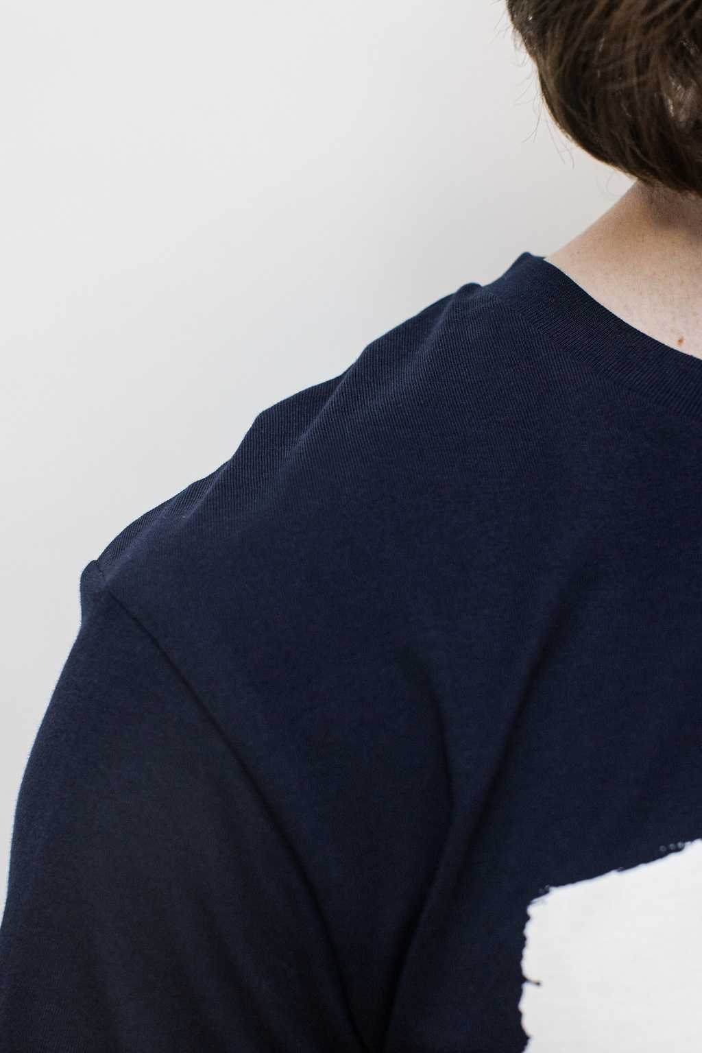 Glida, T-shirt French Navy/Off-white